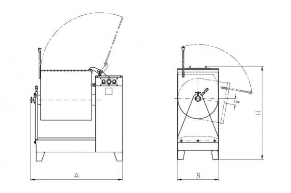 Kneader-mixer AM-100 CASTELLVALL