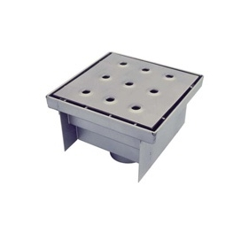 Квадратный сифон для сточных вод 533 UNI-TECH