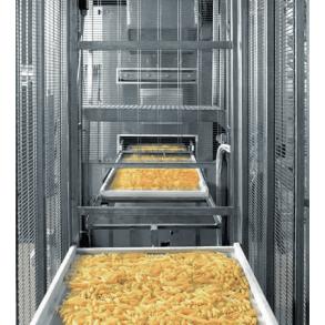 Automatic tray stacker IA 32 for short pasta production ITALPAST