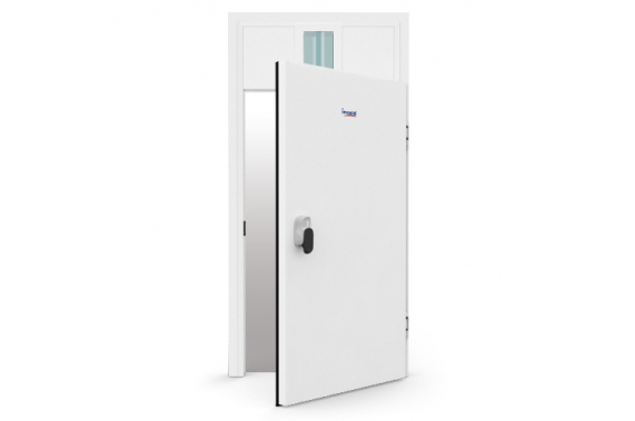 Hinged borderless doors INCOLD