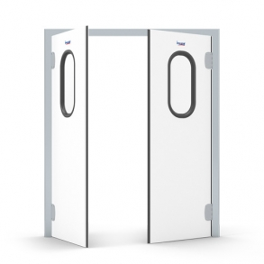 Swinging borderless doors INCOLD