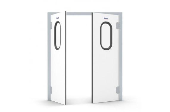 Swinging borderless doors INCOLD