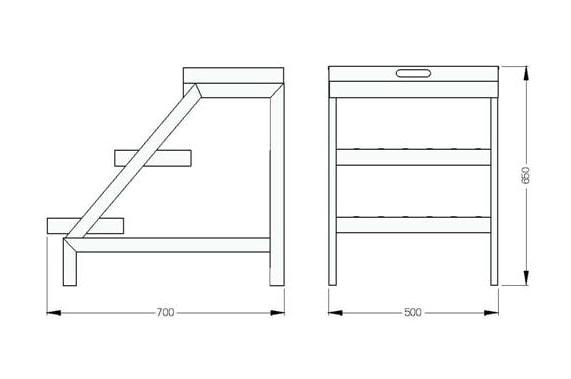 Step-ladder UNI-TECH EC