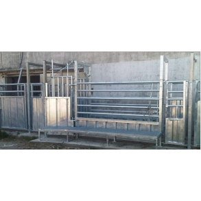 Inspection box for live animals BLASAU
