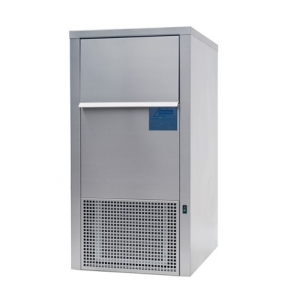70kg laboratory flake ice machine with 35kg integrated bin Ziegra
