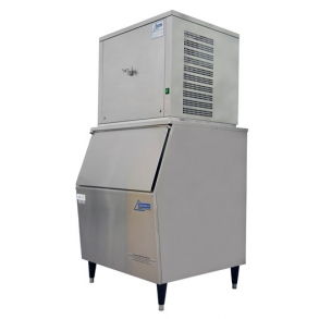 125kg Nugget Ice Machine on 130kg ice storage bin Ziegra