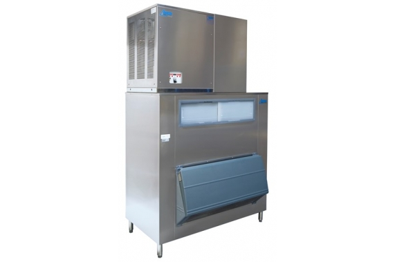 750 kg trawler flake ice machine with 500kg storage Ziegra