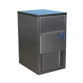 30 kg laboratory flake ice machine with 10kg integrated bin Ziegra
