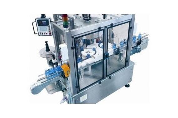 36000 bph self-adhesive labelling machine Mega Ade 27 BRB Globus
