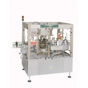 3000 bph self-adhesive labelling machine Mega Ade 6 BRB Globus