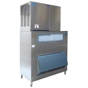 750 kg flake ice machine with 300kg storage Ziegra