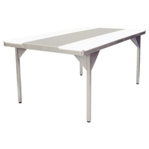 Quartering table with polyethylene belts UNI-TECH