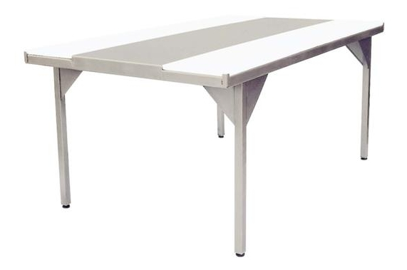 Quartering table with polyethylene belts UNI-TECH EC