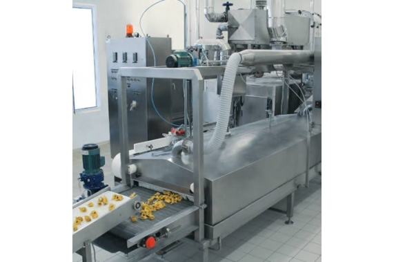 Pasteurizers for fresh pasta running by saturated or overheated steam SC ITALPAST