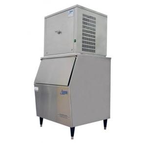 250 kg flake ice machine with 130kg slope fronted bin Ziegra