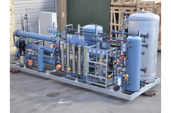 Complete water treatment plants ready for use EUROWATER