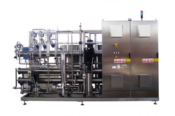 Double pass reverse osmosis with pre-filtration  IDROINOX