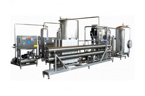 Double-stage reverse osmosis IDROINOX