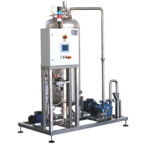 Empty wash water collection unit IDROINOX
