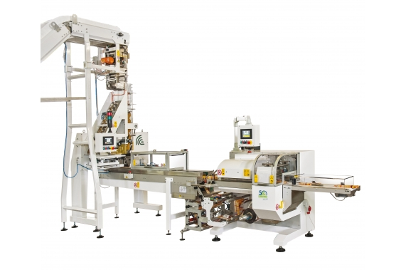 Horizontal flow-pack machine FP40 Campagnolo