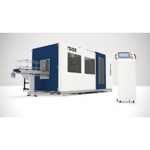 600 bph till 40 lts blow molding machines 5001e SIDE
