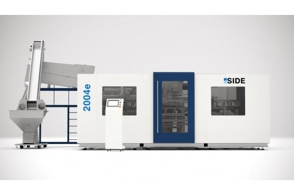 7000 bph till 2 Lts blow molding machines 2004e SIDE