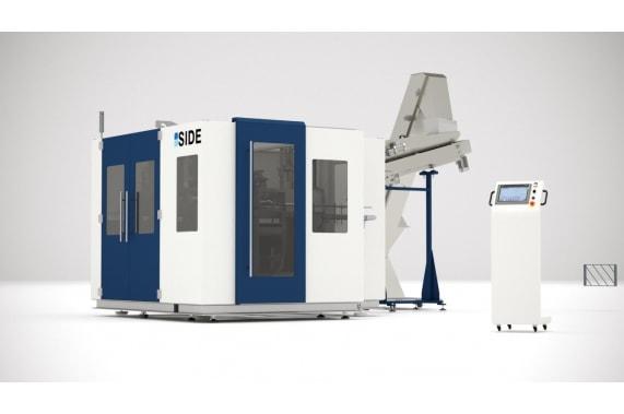 1350 bph till 10 Lts blow molding machines MAXIBLOW SIDE