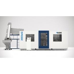 3800 bph till 10 lts blow molding machines 2003eG SIDE