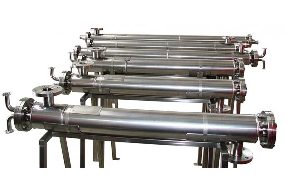 Mounted on stand Exchanger IDROINOX