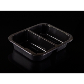 CPET TARY WITH 2 COMPARTMENTS