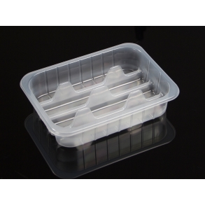 FOOD CONTAINER WITH SEPARATORS