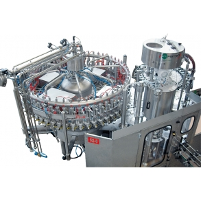 Filling line for carbonated liquids GRANPRIX Electropneumatic