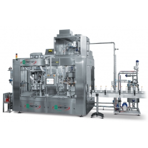 Rotary fillers for chemical and viscous products INFINITY