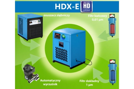 HDX-E refrigeration dryers U-Compressors