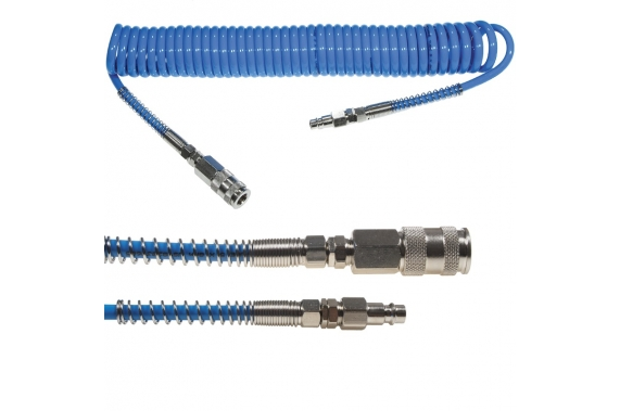 Spiral pressure hoses 5x8 mm