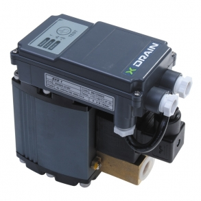 Electromagnetic level controlled drain X-Drain U-Compressors