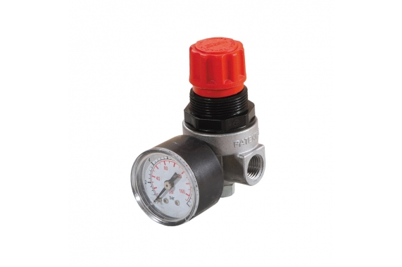 Pressure reducer with gauge U-Compressors