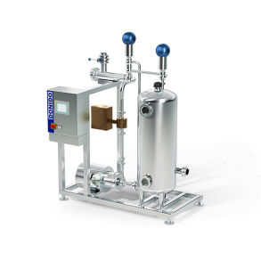Milk reception module with measurement by volume   DONI®Receive