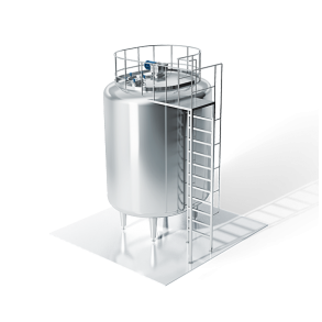 Aseptic tank for storage   DONI®Aseptank