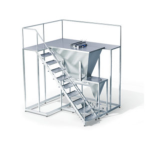 Module for dry added ingredients   DONI®Dry Plus 10