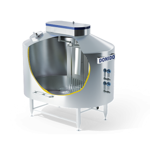 Vertical cheese vat for soft cheese /tvorog/   DONI®Double O Vat SC