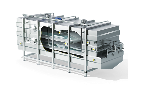 Module for continuous draining and cheddaring   DONI®Cheddarmatic