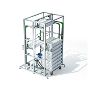 Module for the stacking of block moulds | DONI®Stifmat