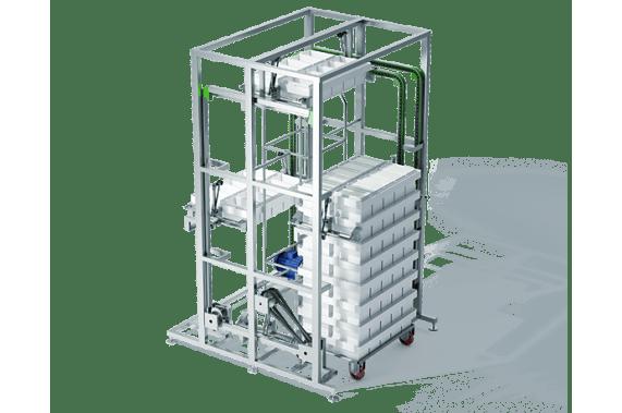 A module for de-stacking of multi moulds | DONI®DeStifmat